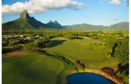 View Tamarina Golf's lovely golf course in magnificent Mauritius.