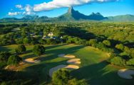 The Tamarina Golf's impressive golf course within astounding Mauritius.