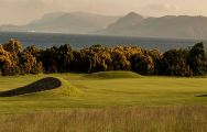 The Fortrose & Rosemarkie Golf Club's beautiful golf course within staggering Scotland.