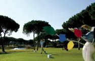 the first tee at vila sol golf course