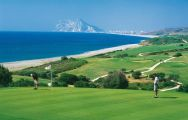 All The Alcaidesa Links Course's scenic golf course in sensational Costa Del Sol.
