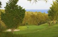 The Estepona Golf Club's impressive golf course situated in sensational Costa Del Sol.