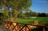 The Finca Cortesin Golf Club's scenic golf course situated in marvelous Costa Del Sol.