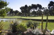 The Parador de Malaga Golf's picturesque golf course in stunning Costa Del Sol.