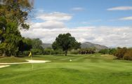The Guadalhorce Golf Club's beautiful golf course within staggering Costa Del Sol.