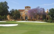 The Guadalhorce Golf Club's scenic golf course situated in marvelous Costa Del Sol.