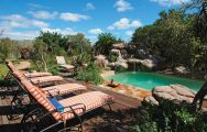 Ukhozi Lodge pool