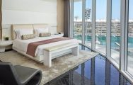 View Yas Viceroy Abu Dhabi's scenic double bedroom within stunning Abu Dhabi.