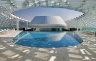 View Yas Viceroy Abu Dhabi's picturesque main pool situated in pleasing Abu Dhabi.