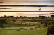 a beautiful sunset on palmares golf resort