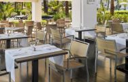 The H10 Estepona Palace's scenic restaurant situated in gorgeous Costa Del Sol.
