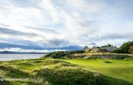 The Fortrose & Rosemarkie Golf Club's lovely golf course within sensational Scotland.