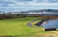 The Castletown Golf Links's beautiful golf course situated in spectacular Isle of Man.