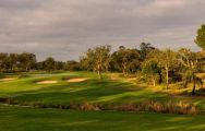 View Quinta do Peru Golf & Country Club's picturesque golf course within striking Lisbon.