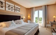 The Barcelo Montecastillo Resort's scenic double bedroom in spectacular Costa de la Luz.