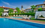 The BlackSeaRama Golf  Villas's beautiful outdoor pool situated in sensational Black Sea Coast.