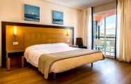 The Hotel Bonalba Alicante's scenic double bedroom situated in dramatic Costa Blanca.
