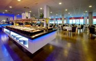 View Hotel Bonalba Alicante's lovely buffet restaurant situated in brilliant Costa Blanca.