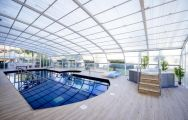 View Hotel Bonalba Alicante's impressive indoor pool situated in incredible Costa Blanca.