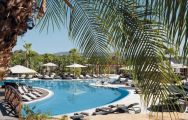 View Conrad Algarve 's scenic main pool situated in stunning Algarve.