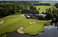 The Golf & Countryclub De Palingbeek's impressive golf course situated in fantastic Bruges & Ypres.