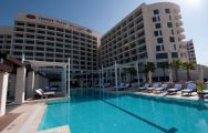 Crowne Plaza Yas Island Pool