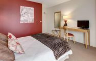 View Domaine Des Ormes's picturesque double bedroom situated in fantastic Brittany.