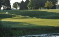 The Golf de Rigenee's beautiful golf course within staggering Brussels Waterloo & Mons.