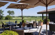 The Golf du Medoc Resort's impressive golf course within pleasing South-West France.
