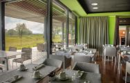 Double Tree By Hilton Hotel Emporda  Spa's impressive restaurant in faultless Costa Brava.