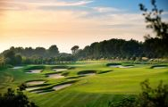 El Prat Golf Club's impressive golf course situated in spectacular Costa Brava.