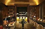 The Stradivarius Bar at Chateau Hotel Mont Royal Chantilly