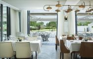 Hotel Camiral's beautiful 1477 restaurant within dazzling Costa Brava.