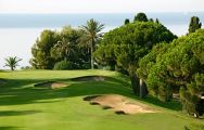 Llavaneras Golf Club's lovely golf course within dramatic Costa Brava.