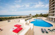 Vila Gale Ampalius Hotel Outdoor Pool overlooking the Beach