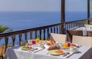 Hotel Jardin Tecina Restaurant Sea View