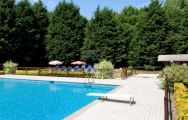 Le Manoir Golf Hotel Pool