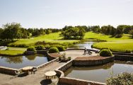 View Cely Golf Club's picturesque golf course in pleasing Paris.