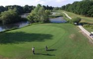 View Golf de la Foret d Orient's scenic golf course within stunning Champagne & Alsace.