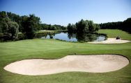 View Golf de la Foret d Orient's lovely golf course in brilliant Champagne & Alsace.