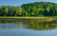 The Golf du Chateau de Chailly's beautiful golf course in striking Paris.