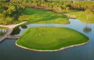 View Sueno Golf Club's impressive golf course in impressive Belek.