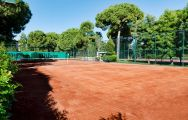 Gloria Serenity Resort Tennis Court