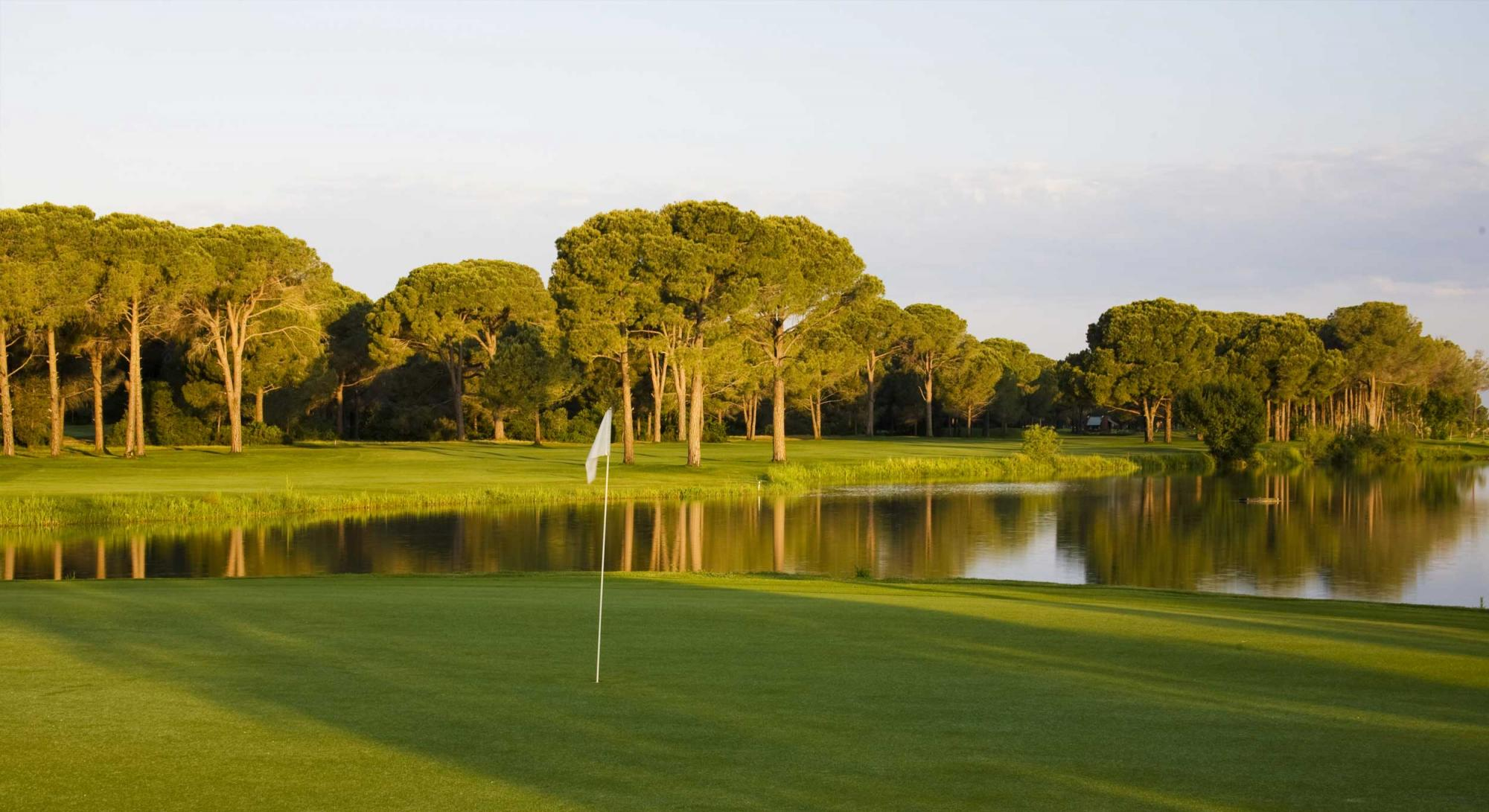 The Robinson Nobilis Golf Club's lovely golf course situated in brilliant Belek.