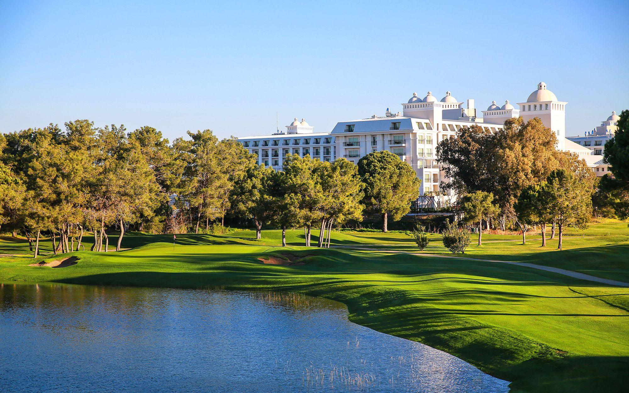View Titanic Golf Club's lovely golf course in magnificent Belek.