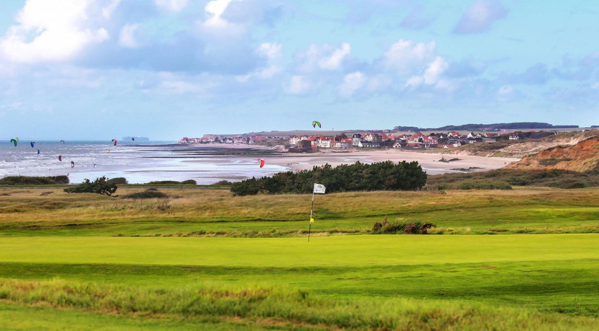 The Golf de Wimereux's picturesque golf course situated in impressive Northern France.