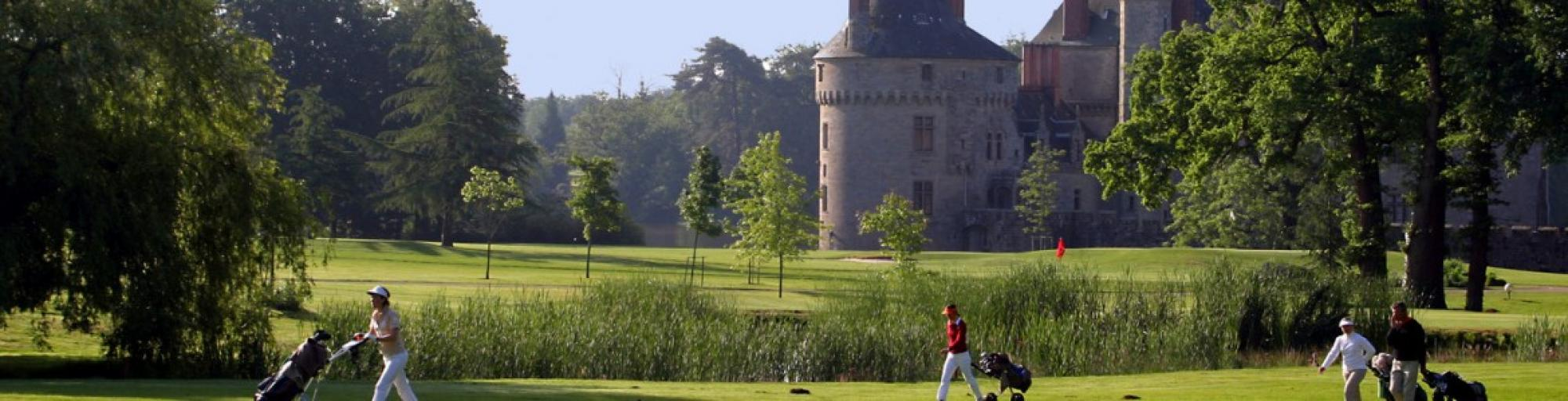 The Chateau Golf des Sept Tours's picturesque golf course in gorgeous Loire Valley.
