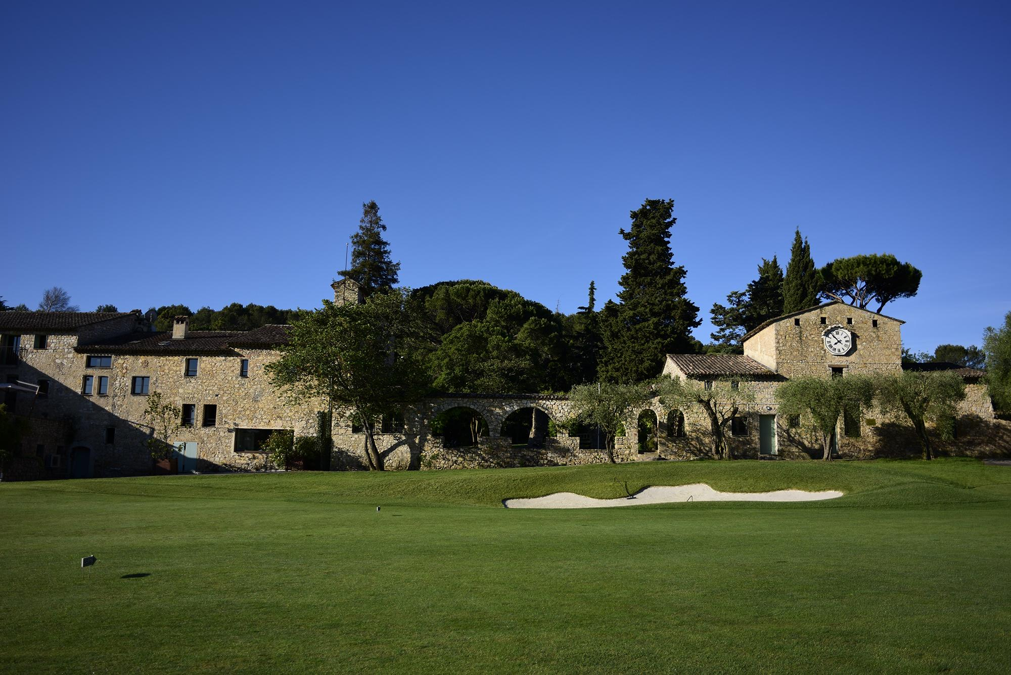 The Golf Country Club Cannes Mougins's lovely golf course situated in brilliant South of France.