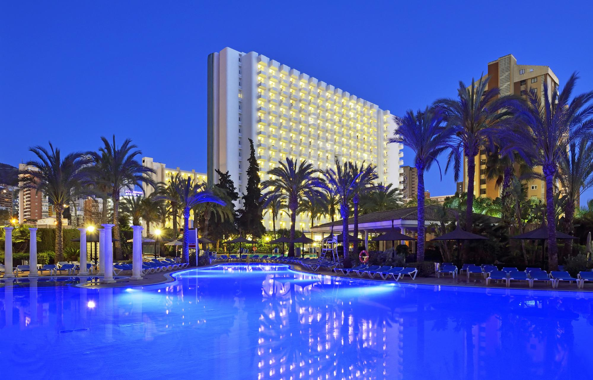 The Sol Pelicanos Ocas Hotel's impressive hotel situated in fantastic Costa Blanca.