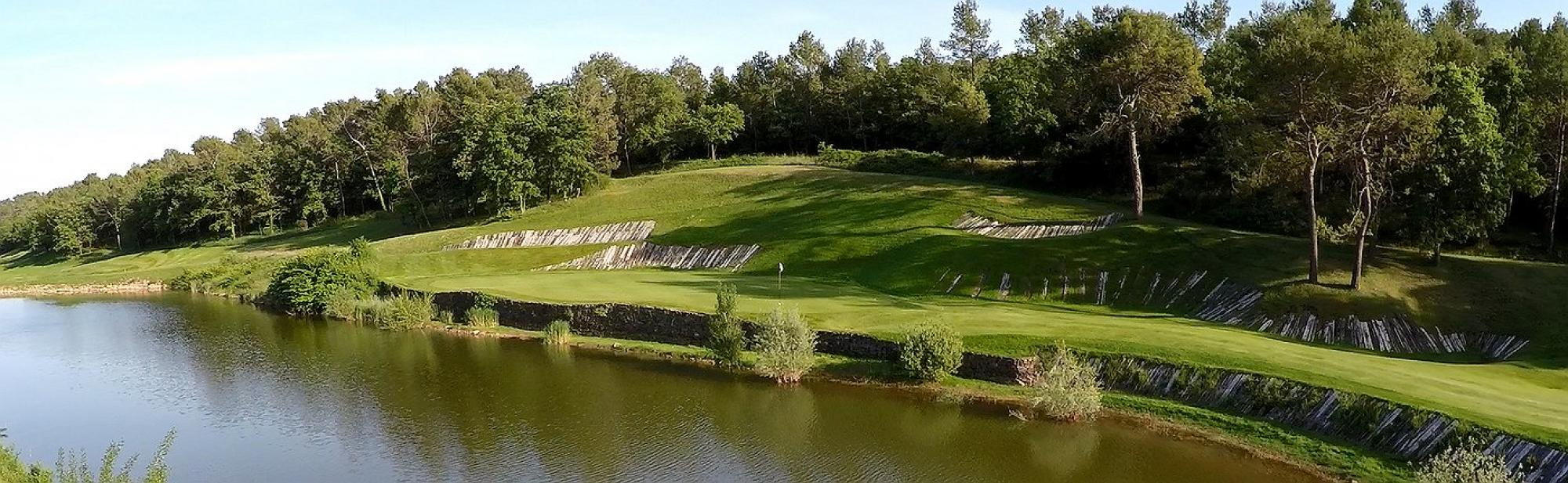 All The Golf de Barbaroux's beautiful golf course in amazing South of France.